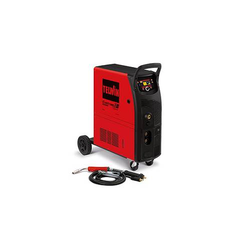 Saldatrice Inverter Funzionamento Continuo e Pulsato ELECTROMIG 330 WAVE 400V + ACC. 816061 Telwin