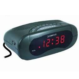 Alarm Digital EH49101S Silver Lowell Justaminute