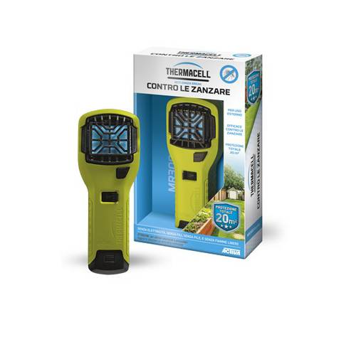 Scaccia Mosquitoes Mosquitoes for Garden Portable Green Fluo MR300 Thermacell Activa