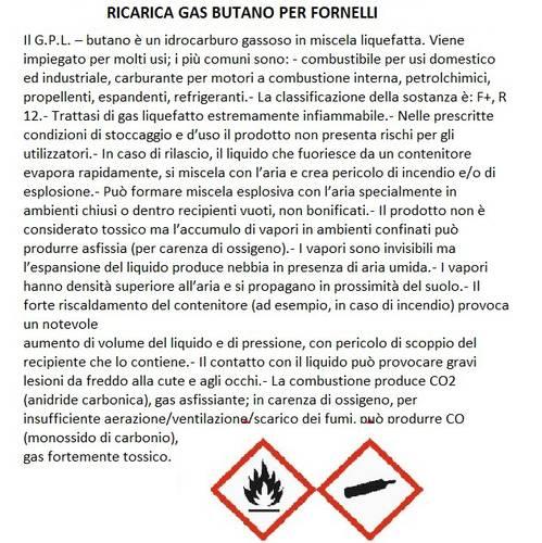 Butane Gas Cartridge T-Trade KGC250 250 gr