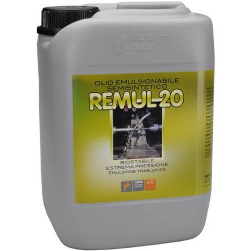 Emulsifiable Cutting Oil Remul 20 Semi-synthetic 5 liter 183 Faren