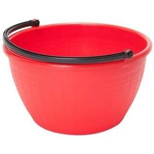 Cesta Tonda in Red Plastic Handle with ICS