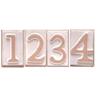 House Number / Letter Terracotta