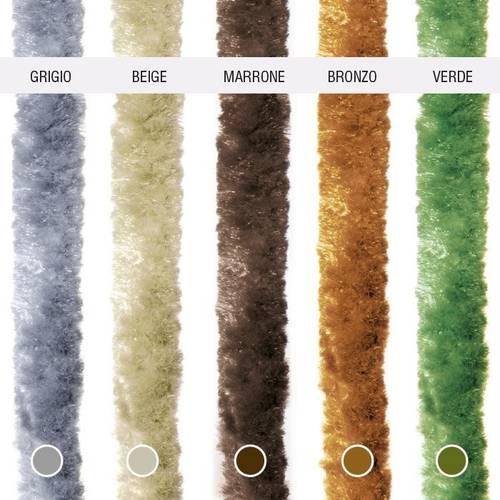 Colored Cinnamon Curtain
