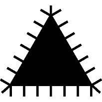 Lima Triangle 1-170-08-2-2 Bahco