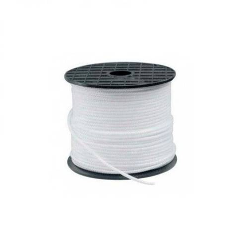 White Venetian Braid Roll mt.100 mm.3
