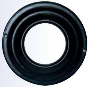 Rosette to ring stove pellets Black Smalbo
