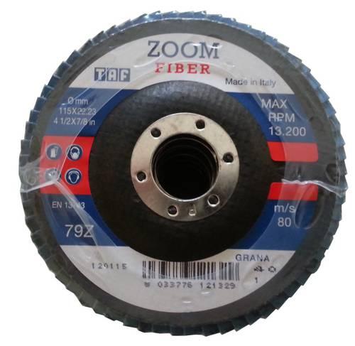Disc Lamellar Zirconium Taf Zoom Fiber 115x22mm