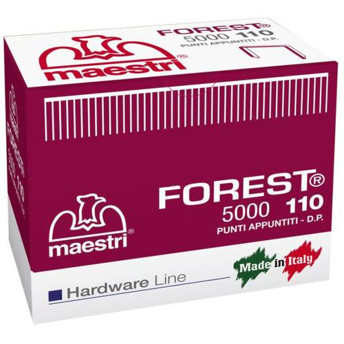 Metal Points Forest 110 5000 pcs Masters