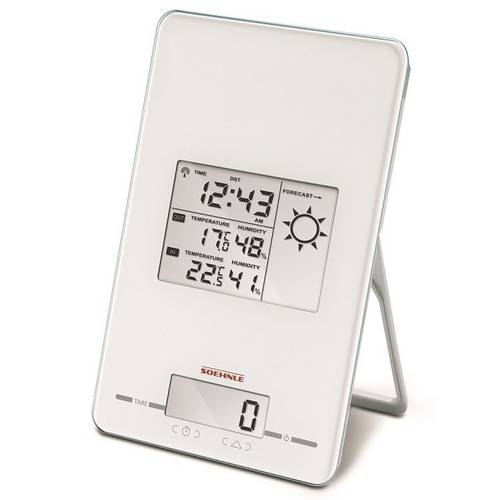 Digital Electronic Kitchen Scale Weather Station Page Weather Center 5kg Soehnle