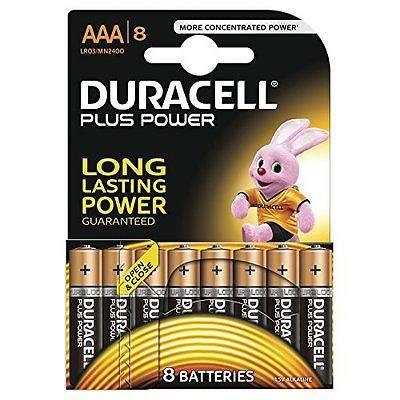 8 Pile Ministilo AAA MN2400 Duracell