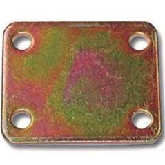 Heavy Plate Junction in Four Holes 50x60x3mm Art.639 / 3 Minutex