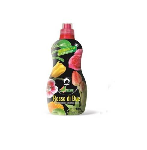 Fue fertilizer Liquid Red Ox 1 Liter Ornamental Plants and Fruit Al.Fe