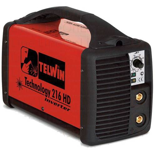 Welder Electrode Technology 216HD + 230 Acc. Telwin 816206