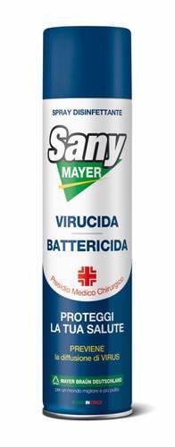 SANYMAYER Spray Disinfectant Bactericidal Fungicidal and Virucidal 400ml Mayer Braun