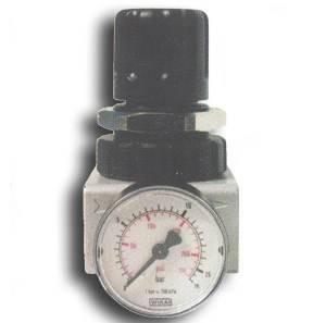"Reducer 3/8 ""-1/2"" with pressure gauge TA200R-M GAV"