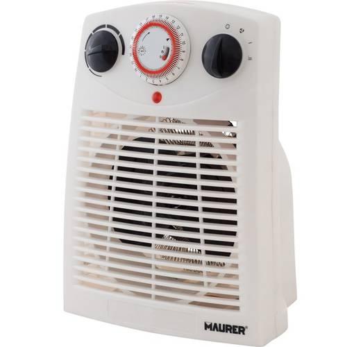 "Electric fan heater with timer ""Bora Bora"" 098555 Maurer"