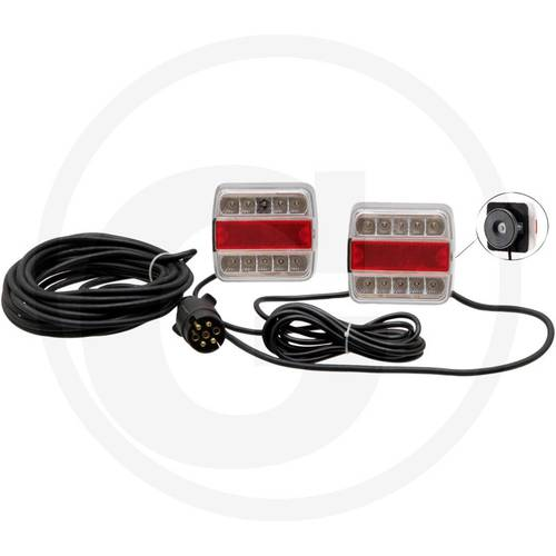 Magnetic Kit Lights Taillights Led with Cable mt.7 Art.70799196 Granit