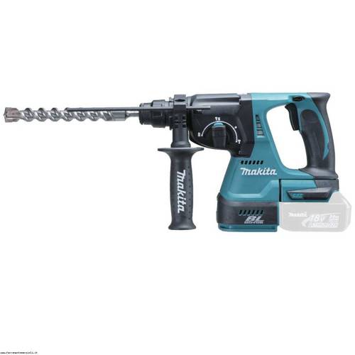[KIT Makita DK1892] Cordless rotary grinder BGA452Z BHR243Z + + screwdriver Pulse BHR243Z + 3 Batteries 18V