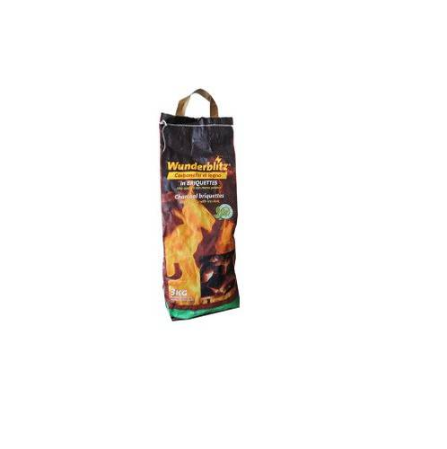 Charcoal Charcoal for Barbecue 3 Kg in Wunderblitz Briquettes