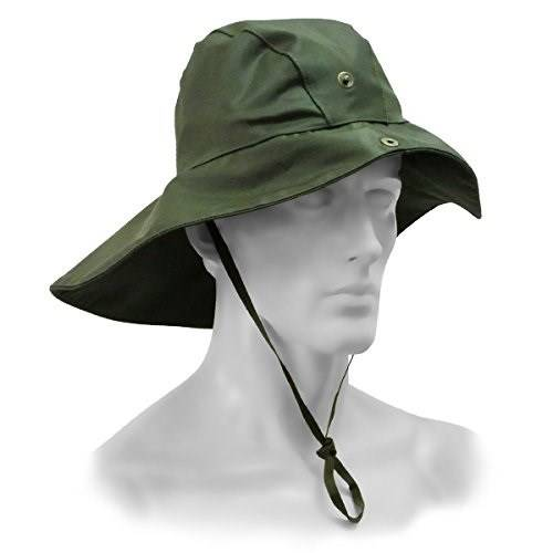 Green Firefighter Type Waterproof Hat