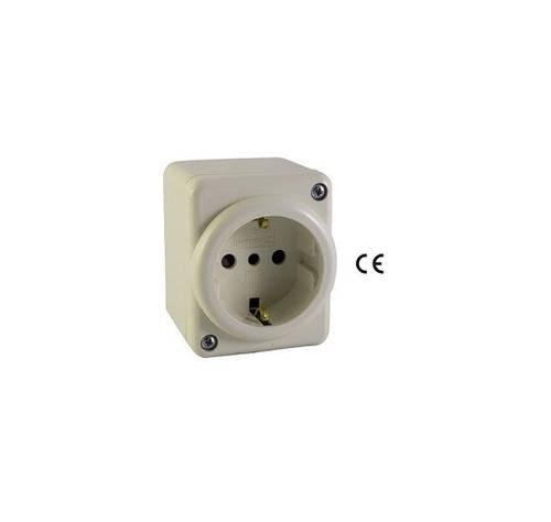 Presa Schuko per Minicanalina 2P+T 16A 250V 52360 Maurer