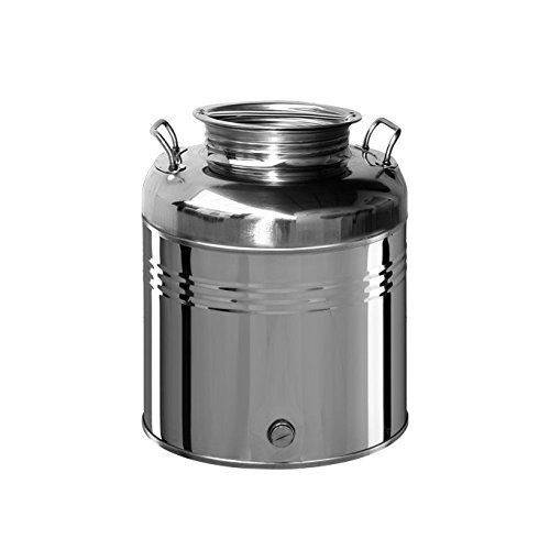 Crimped steel barrel for oil and Food