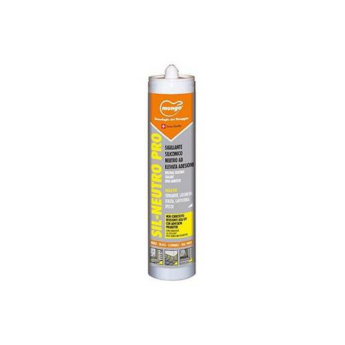 Silicone Anti-mold Acetic Sealant for Windows and Carpentry 310 ml SIL-NEUTRO PRO Mungo