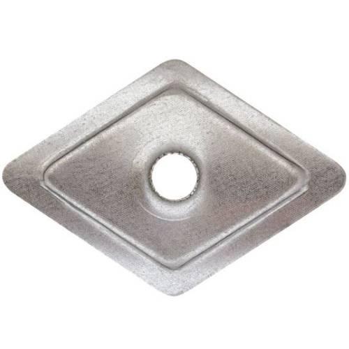 Diamond Shaped galvanized washer