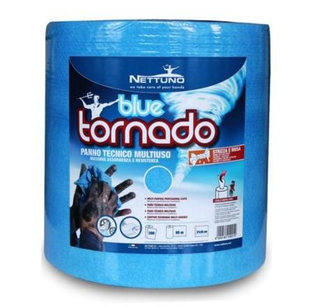 Cloth roll Technical Multipurpose Blue Tornado 90mt Neptune 40001