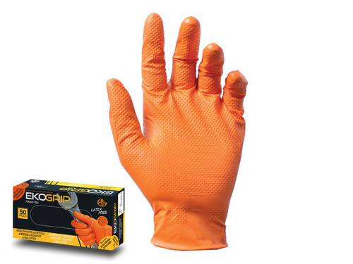 100 SikuroTech Nitrile Disposable Gloves1