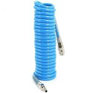 Spiral hose for compressed air 8x6mm Blue Mt 10 Art.882 PUG S12622 Airex