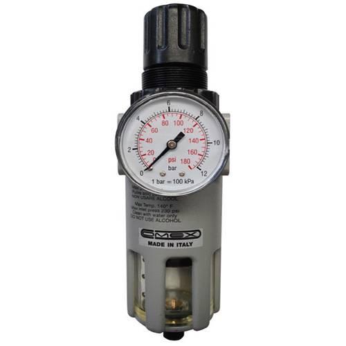 """Filter reducer 3/8 """"-1/2"""" with pressure gauge TA200FR-M GAV"""