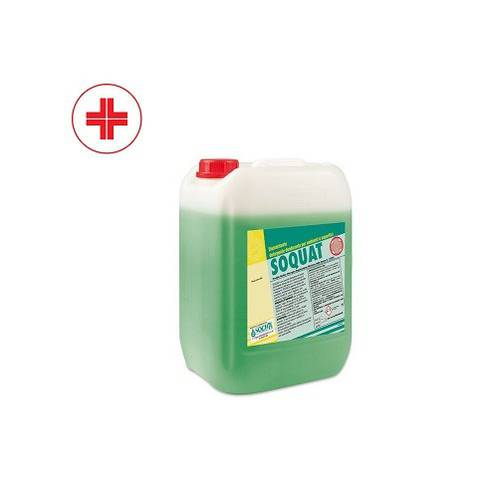 SOQUAT Sanitizing Disinfectant Detergent for Environments and Surfaces 10 Liters
