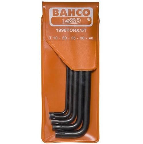 Assortment 5 Hexagonal Keys Torx 1996TORX / 5T Bahco