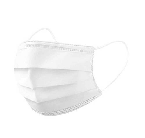 Mask Protective Protective Mask in Washable Fabric 6 Veils with Elastics