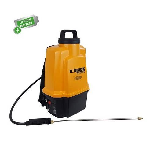 Backpack Pump Battery Sprayer 12 Liters V.Black Elektron Volpi