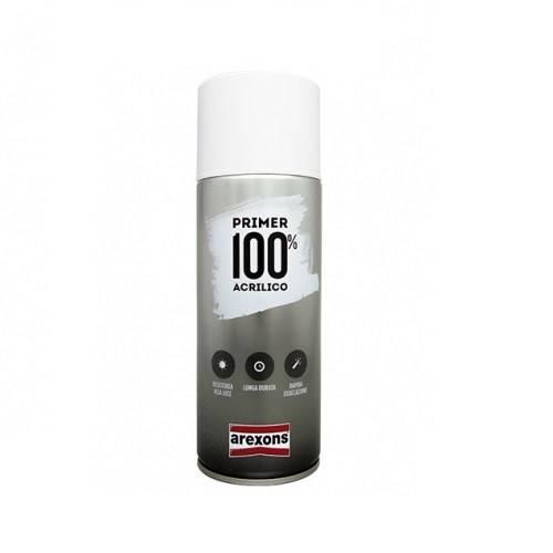 Primer Spray 100% Acrylic Antirust Primer Gray Arexons 400 ml