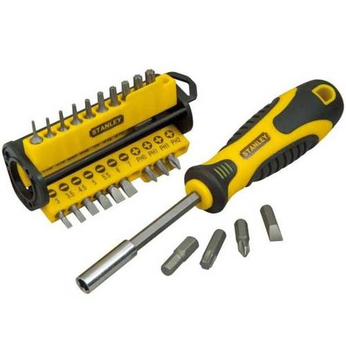 Screwdriver bit holder Magnetic Sept. 36 pieces STHT0-70885 Stanley