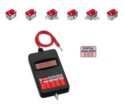 Tester Digitale DV300 per Batterie 802782 Telwin