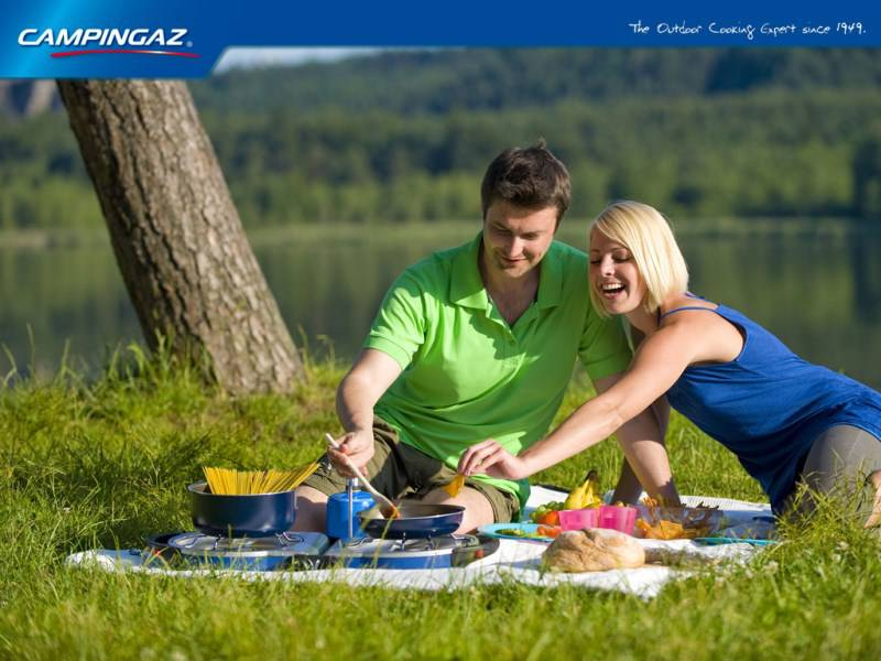CAMPING, BARBECUE