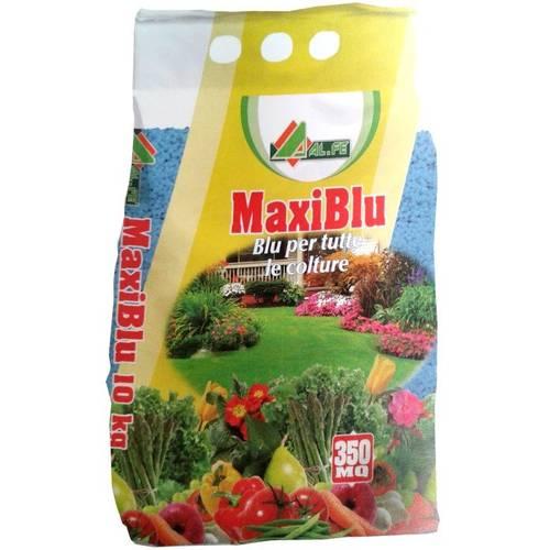 Fertilizer for Botanical Garden and MAXI BLUE 10 Kg Al.Fe