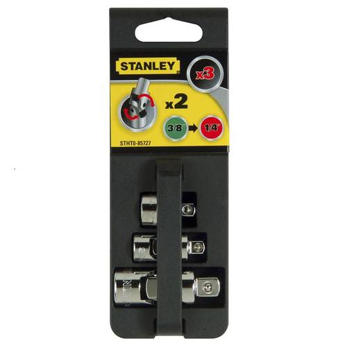 """September 2 Joints Att. 3/8 """"+ 1/4"""" adapter and 3/8 """"F-1/4"""" M STHT0-85727 Stanley"""