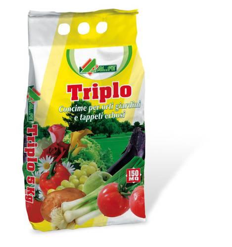 Fertilizer for Botanical Garden and TRIPLE 5 Kg Al.Fe