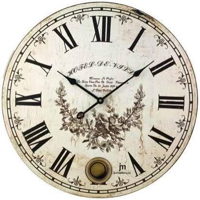 Pendulum clock with 47,5cm Justaminute Lowell 21407