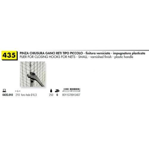 Pliers for Hooks Net Small ø6,3mm art.35 Mundial