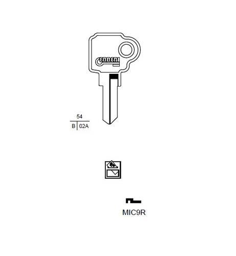 Key MIC9R Errebi