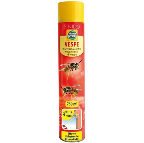 Insecticide Spray Vespe and Nests 750ml Mondo Verde