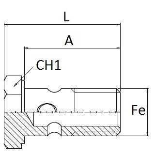 Deck fill Rings Spherical Gas thread