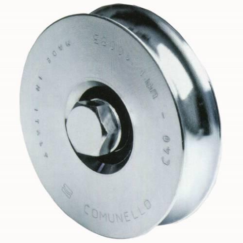 Gola wheel V Galvanized 98mm 300V-100 Comunello